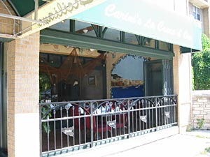 Take in the outdoors in our open-air sidewalk cafe
